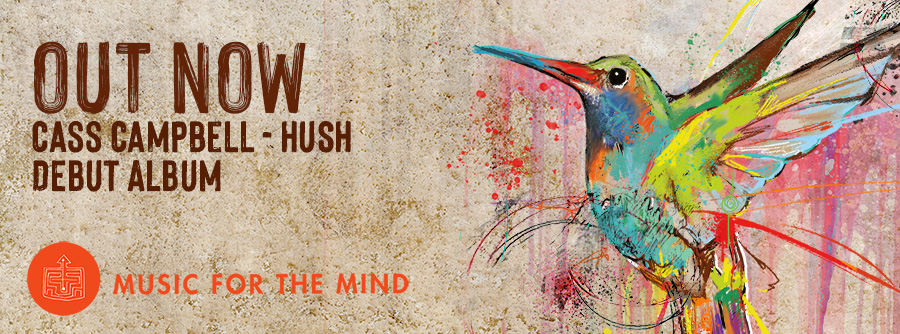 HUSH WEBSITE BANNER OUT NOW - HOME